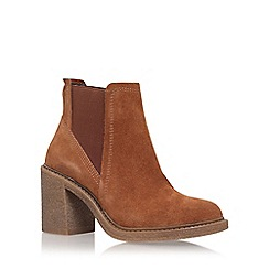 Carvela - Brown spark' high heel ankle boot