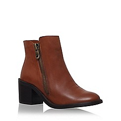 Carvela - Brown 'Skim' low heel ankle boot