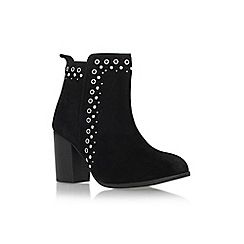 Miss KG - Black 'Storm' high heel ankle boot