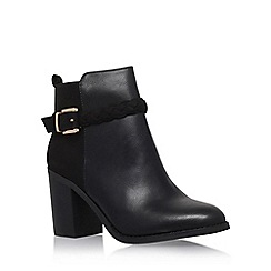 Miss KG - Black 'Swift' high block heel ankle boot