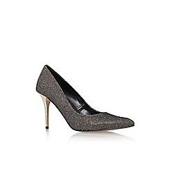 Carvela - Blk/other 'Goalie' high heel court shoe