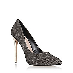 Carvela - Blk/other 'Goal' high heel court shoe