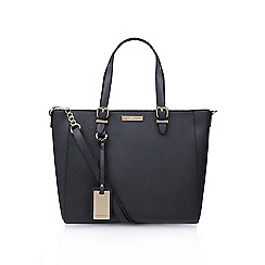 Carvela - Grey/ dark 'Dina' winged tote handbag