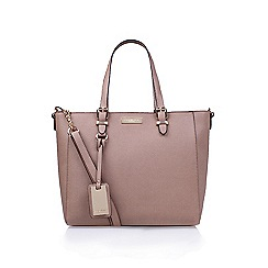 Carvela - Nude 'Dina' winged tote handbag