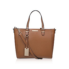 Carvela - Brown 'Dina' Winged Tote bag with shoulder strap