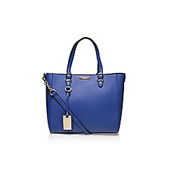 Carvela - Blue 'Dina Winged Tote' handbag with shoulder strap