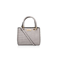 Carvela - Grey 'dea' mini shoulder bag handbag with shoulder strap