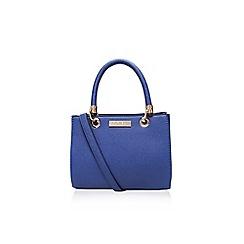 Carvela - Mid blue 'Dea' mini shoulder bag