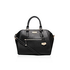 Carvela - Black 'Fai' winged bowling handbag