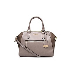 Carvela - Grey 'Fai' winged bowling handbag