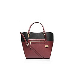 Carvela - Black 'Fleta' mix tote handbag