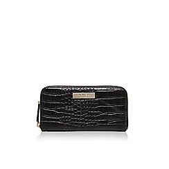 Carvela - Black 'Alison' croc purse