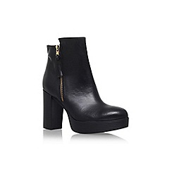 Carvela - Black 'Supremo' high heel ankle boot