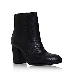Carvela - Black 'Sherbert' high block heel ankle boot