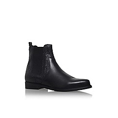 Carvela - Black 'Splash' flat pull on ankle boot