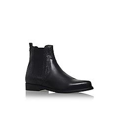 Carvela - Black 'Splash' flat pull on ankle boot