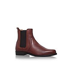 Carvela - Tan 'Splash' flat pull on ankle boot