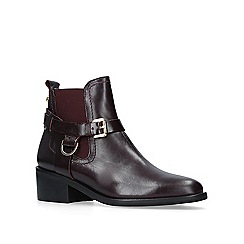 Carvela - 'Saddle' low heel ankle boots