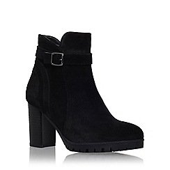 Carvela - Black 'Support' high heel ankle boot