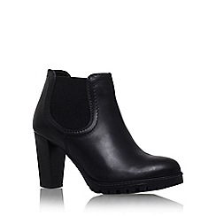 Carvela - Black 'Skittle' high heel ankle boot
