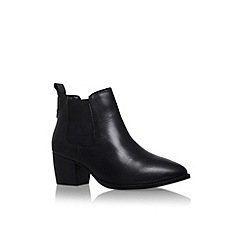 Carvela - Black 'Topaz' low heel ankle boots