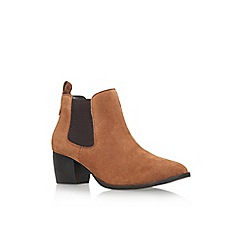 Carvela - Brown 'Topaz' mid heel ankle boot