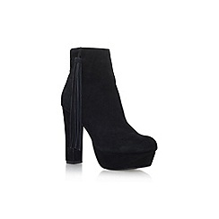 KG Kurt Geiger - Black 'Rocky' high heel ankle boots