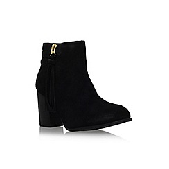 Carvela - Black 'Tegan' high block heel ankle boot
