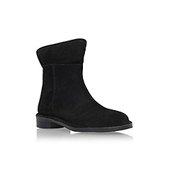 Carvela - Black 'Ted' low heel ankle boot with zip