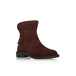 Carvela - Brown 'ted' low heel ankle boot