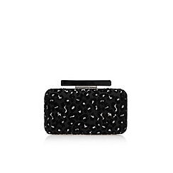 Miss KG - Black 'Toya' clutch bag with chain