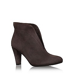 Carvela Comfort - Grey 'rida' high heel slip on ankle boot