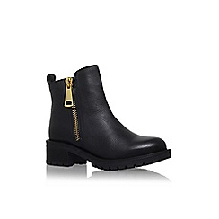 KG Kurt Geiger - Black 'Rocket' low heel ankle boot