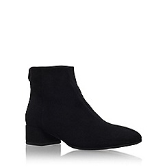 Carvela - Black 'Swing' low block heel ankle boot