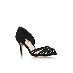 Miss KG - Black 'Phillippa2' high heel court shoes