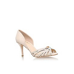 Miss KG - Nude 'Phillippa2' high heel slip on sandal