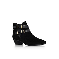 Vince Camuto - Black 'Capella' low heel ankle boots