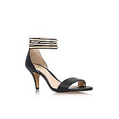 Vince Camuto - Black 'Misha' mid heel sandals