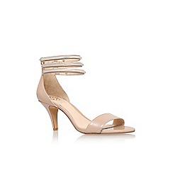 Vince Camuto - Nude 'Misha' mid heel sandals