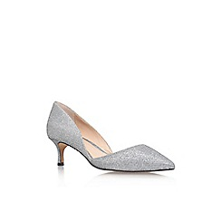 Vince Camuto - Silver 'Premell' low heel court shoe