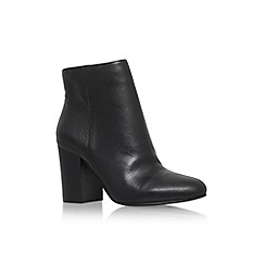 Vince Camuto - Black 'Sabria' mid block heel ankle boot