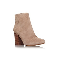Vince Camuto - Taupe 'Sabria' mid block heel ankle boot