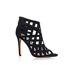 Vince Camuto - Black 'Tatianna' high heel strappy ankle shoe boot