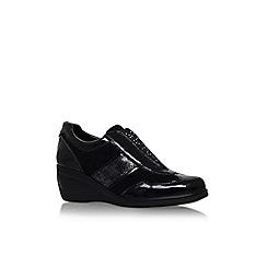 Carvela Comfort - Black 'Carlton' wedge heel shoe
