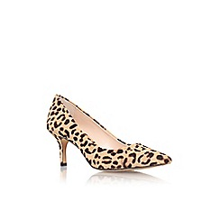 Vince Camuto - Brown/ other 'Vivienne2' mid heel printed court shoe