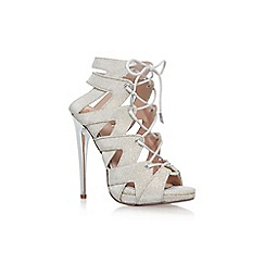 KG Kurt Geiger - Gold 'Hoxton' High Heel Sandals
