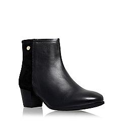 Carvela Comfort - Black 'Rani' mid heel ankle boot