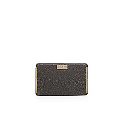 Carvela - Black 'Goal' clutch bag