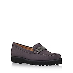 Carvela Comfort - Grey 'Charlie' flat slip on loafer