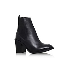 Carvela - Black 'Tilly' mid block heel ankle boot